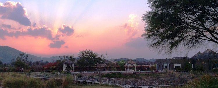 Sonnenuntergang Rajasthan