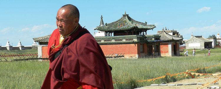 Karakorum Mönch Lama Kloster Erdene Zuu Mongolei