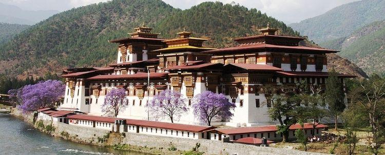 Punakha Klosterburg BHUTAN