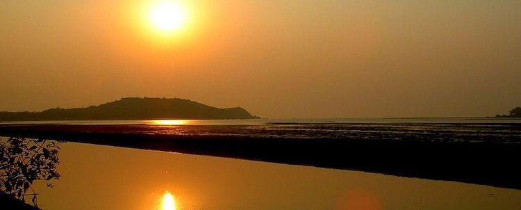 Goa Fort Chapora Fluss