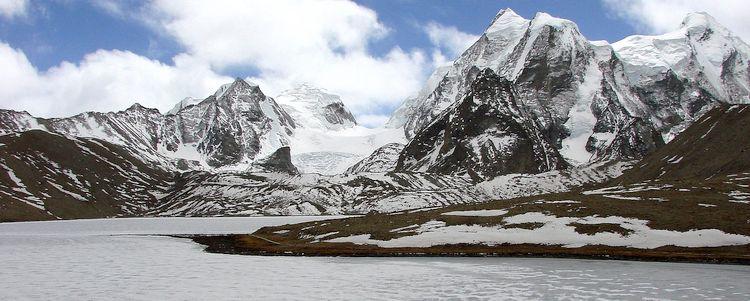Gurudongma See Tibetisches Plateau Sikkim