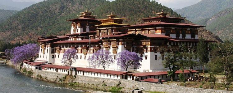 Bhutan Punakha Dzong Klosterburg