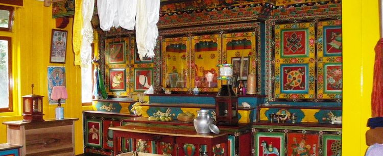 Bhutia Gebetszimmer Sikkim