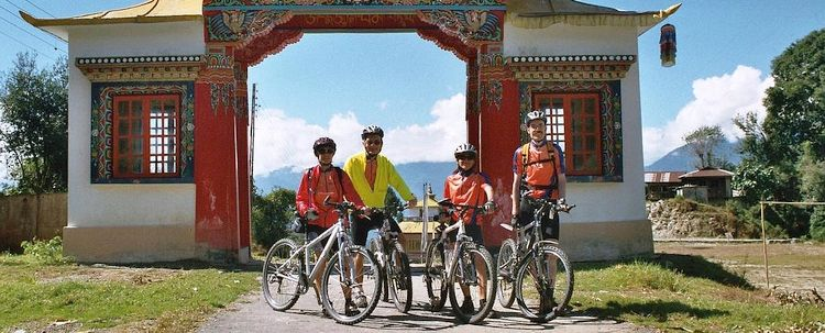 Radreise Sikkim Indien
