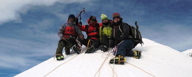 Mount Chogyal Peak West Sikkim Mountaineering