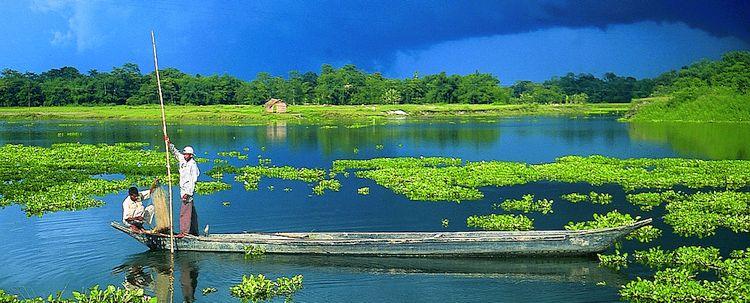 Assam Majuli Insel