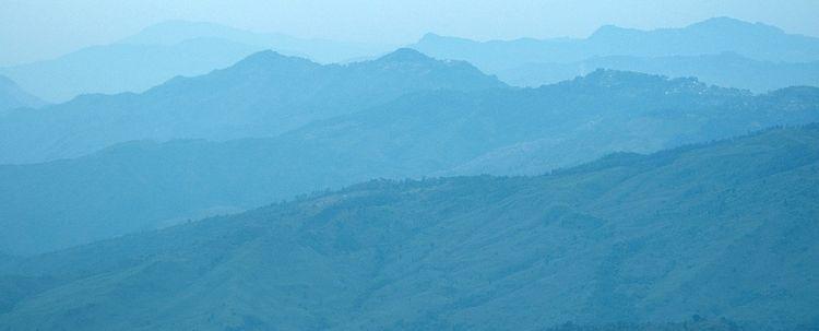 Nagaland Landschaft Gebirge