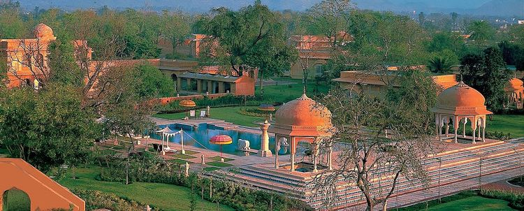 GENUSSVOLL REISEN Luxus im Rajvilas Jaipur Rajasthan