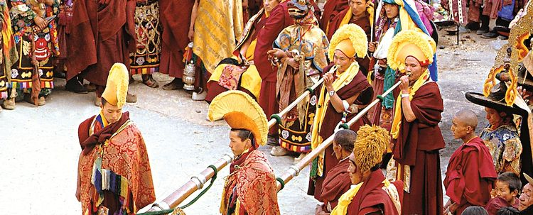 Tawang Kloster losar Neujahrszeremonie Arunachal