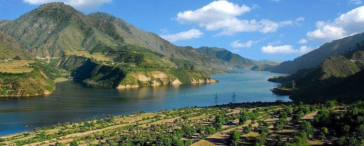 Garwhal Landschaft auf dem Weg nach Himachal