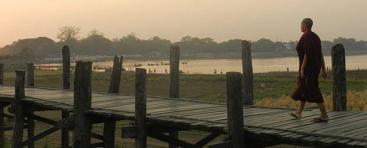 U-Bein Brücke Burma Myanmar