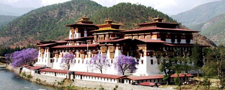 Punakha Dzong, eine der schönsten Klosterburgen Bhutans