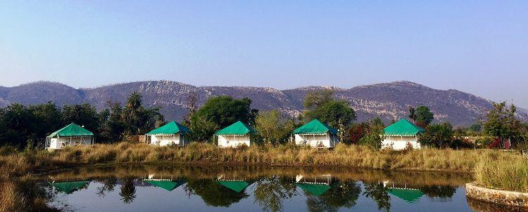Öko Resort Aravalli Gebirge Rajasthan