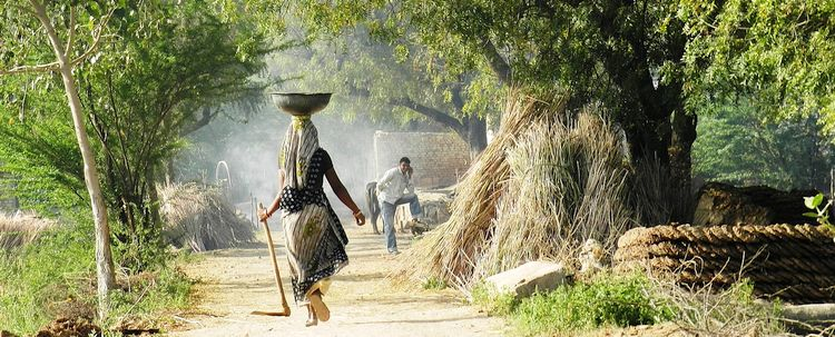 Dorfleben Rajasthan
