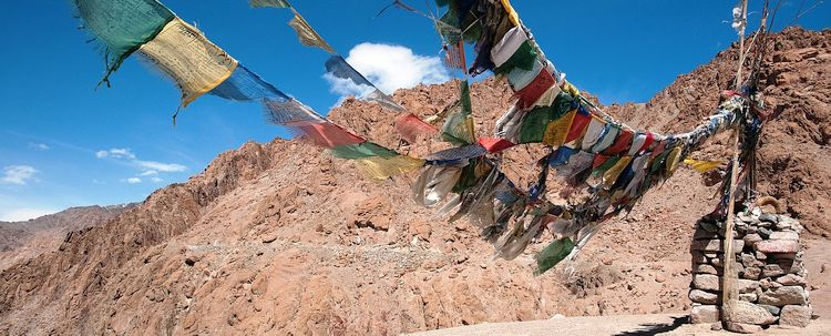 Ladakh Gebetsfahnen