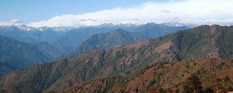 Arunachal Pradesh Tawang Trekking Berglandschaft