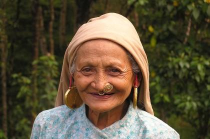 Sikkimese lady