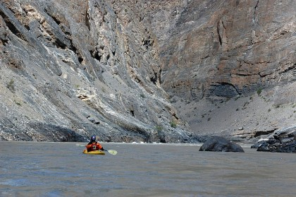 Rafting in White Waters