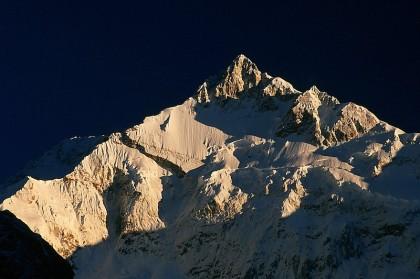 Mt. Kanchenjunga in Sikkim