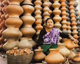 Ima market in Imphal